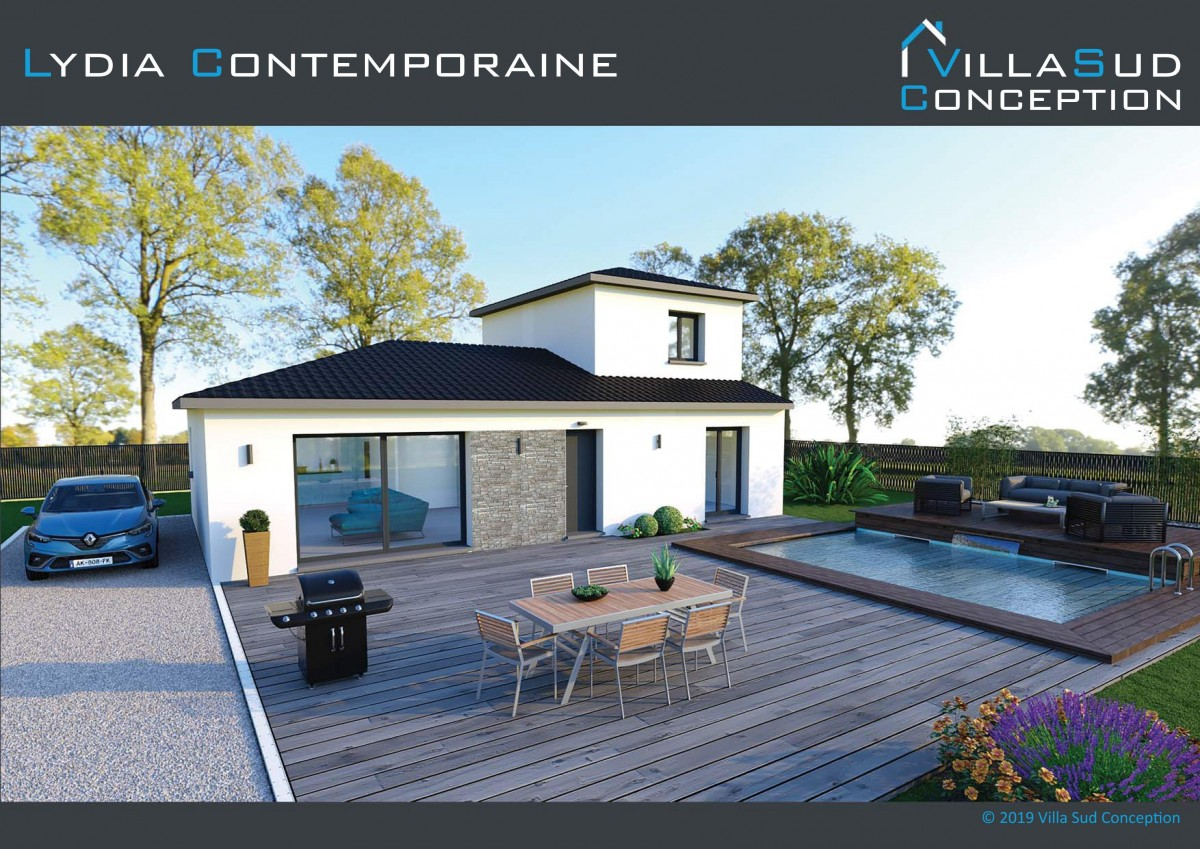 Maison Neuve Contemporaine 100 m² habitable